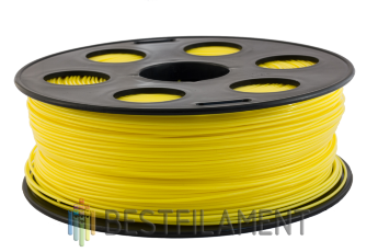 Bestfilament yellow ABS plastic for 3D printer 1 kg (1.75 mm)
